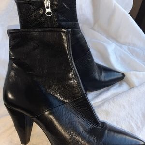 L'Intervalle leather high heel boots Spain